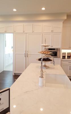 Utah white custom cabints kitchen 2