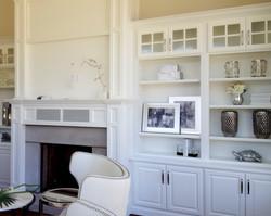 utah custom cabinets fireplace bookshelf 1