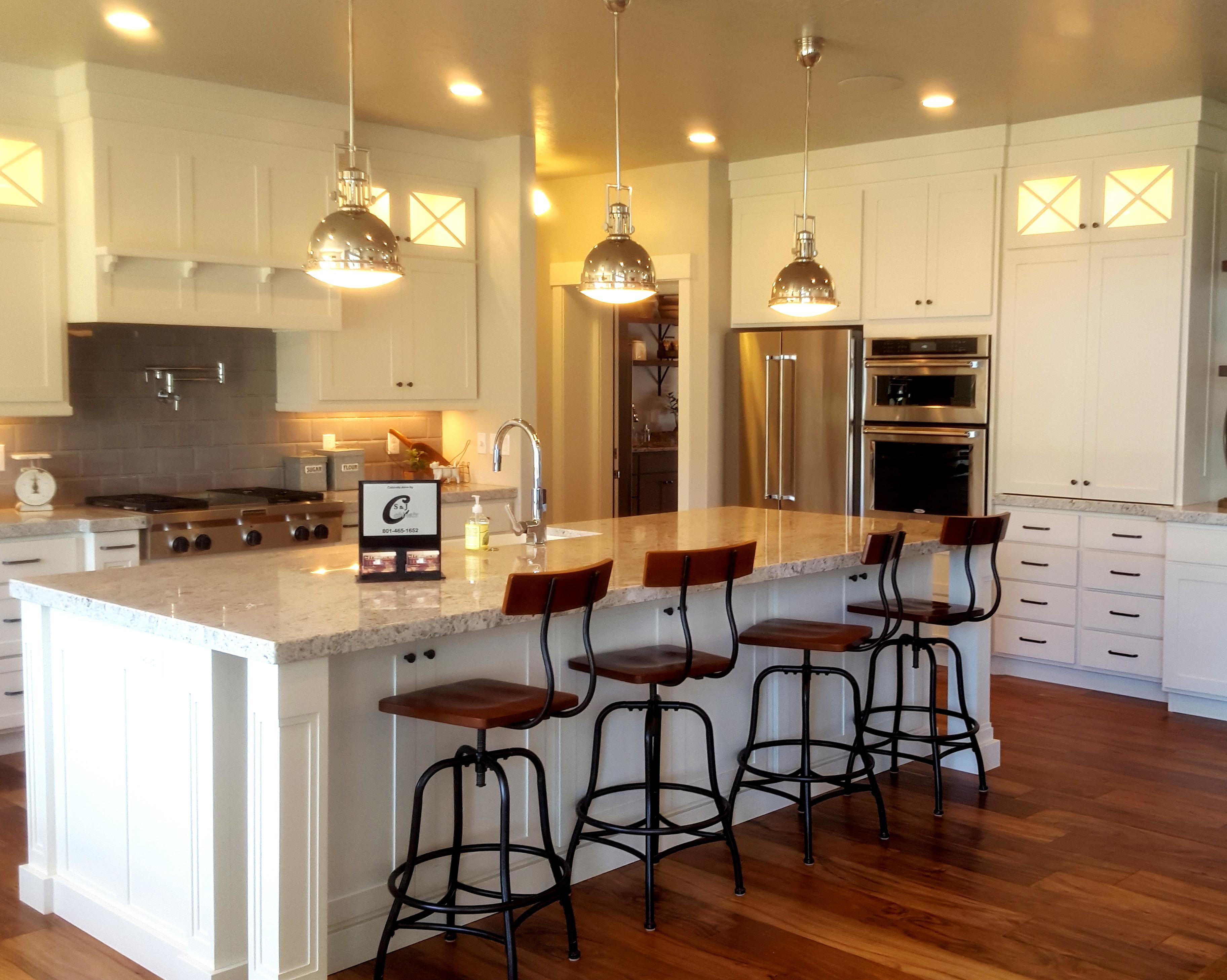 utah custom cabinets white kitchen 1