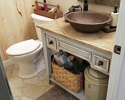 Utah custom cabinets bathroom vanity