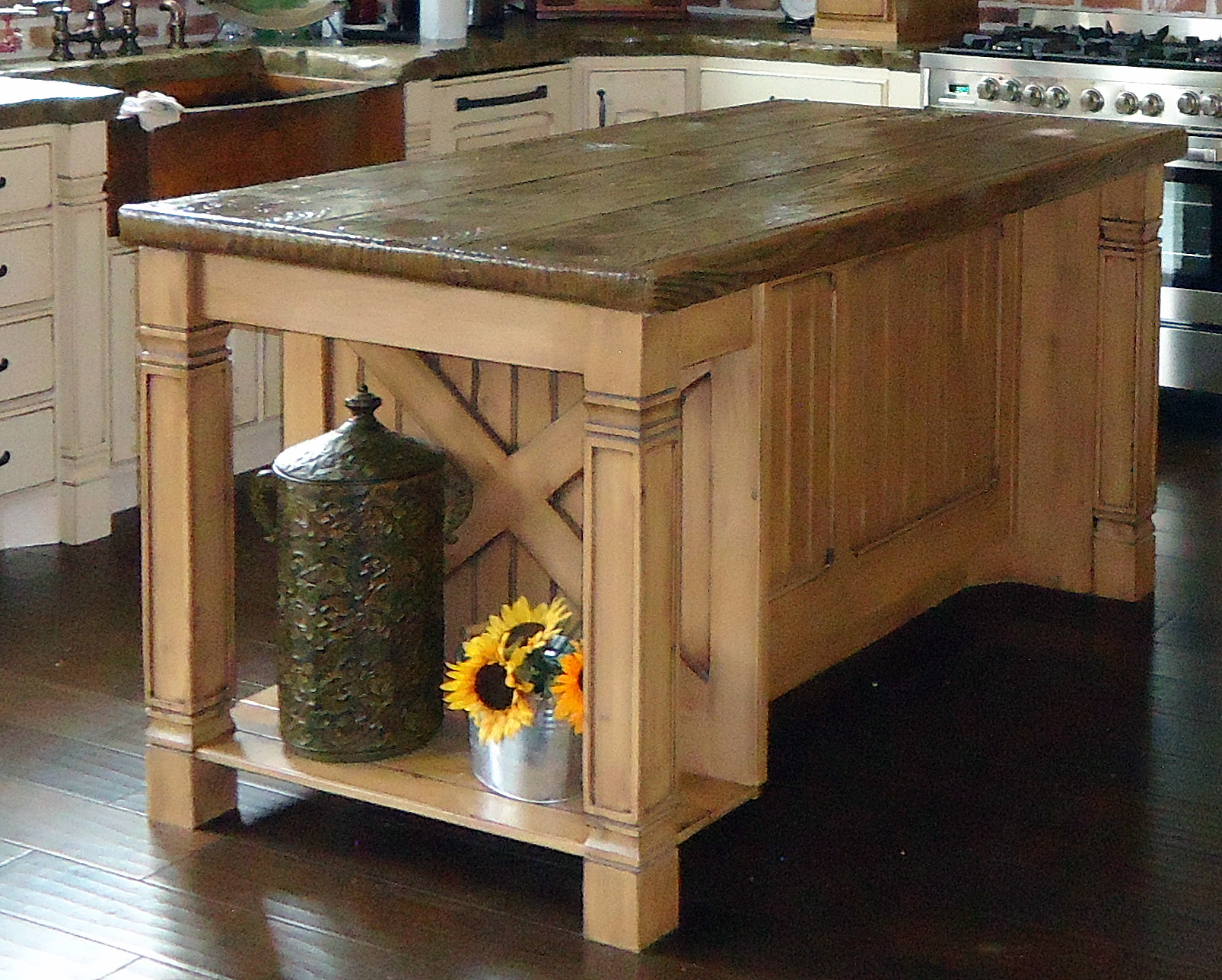 utah custom cabinets island 5
