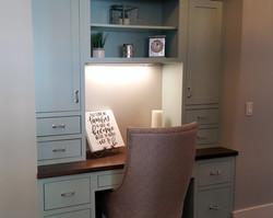utah custom cabinets desk