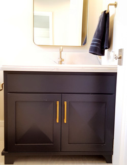 Utah custom cabinets vanity 4