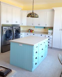 Utah custom cabinets laundry