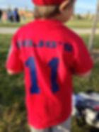 A Pojo's sports jersey