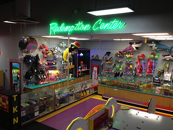 Pojo's Redemption center and prizes