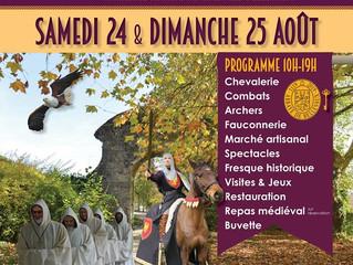 Grande fête médiévale à Cirey-lès-Bellevaux.