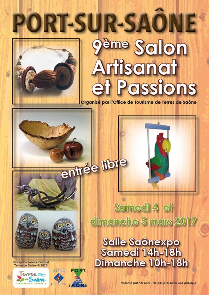 9ème Salon Artisanat et Passions à Port sur Saône