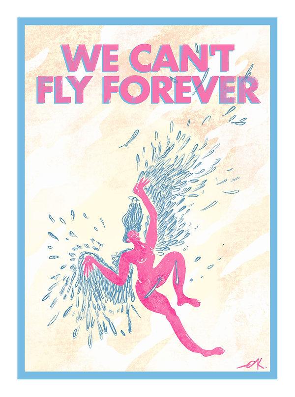 we_can't_fly_forever2150dpi framed.jpg