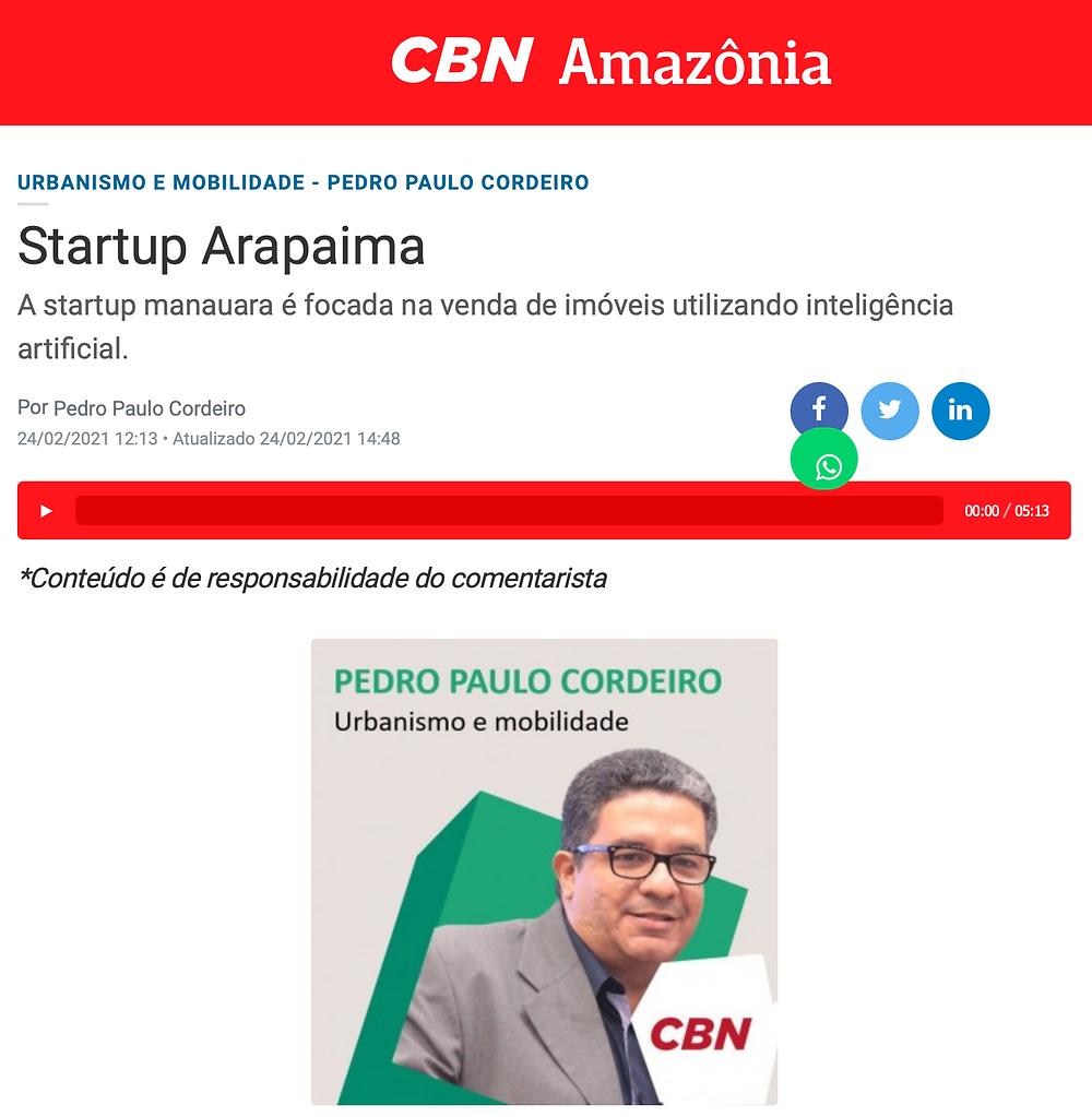 Startup Arapaima Harpia preços dos imóveis em Manaus