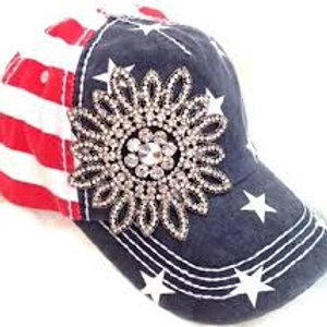 Bling Hat Americana
