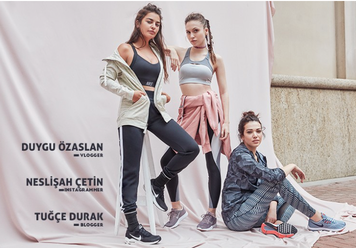 Boyner & Nike çalışması, Ağustos 2017