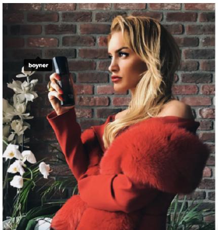 Boyner & Armani You parfüm, Sevgililer Günü Çalışması, Bianca Somer Türkmen, Şubat 2017