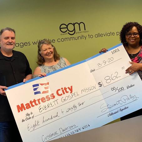 Mattress City: Proud Stand With EGM.