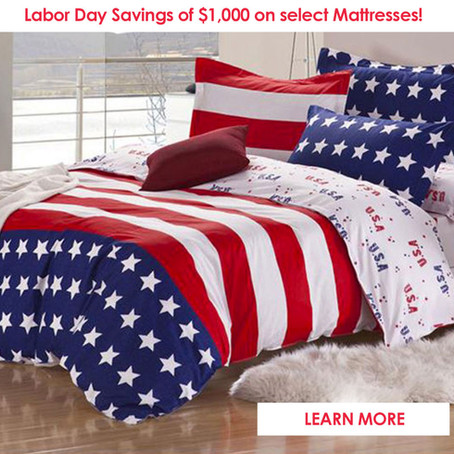 Shop Labor Day Sale at Mattress City - Save $1000 Off Select Mattresses