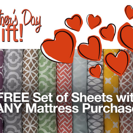 Mention This Ad To Receive FREE Sheets With Any Mattress Purchase at Mattress City - $289 value!