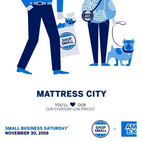 Shop Small at Mattress City - You'll Love Our Every Day Low Prices!