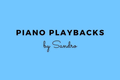 Ob Der Himmel Weint   Piano Playback by Sandro