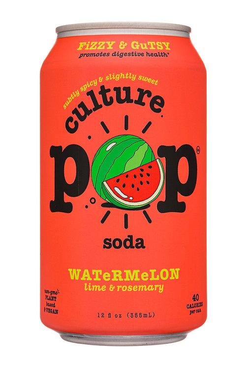 Culture Pop Sparkling Probiotic Soda