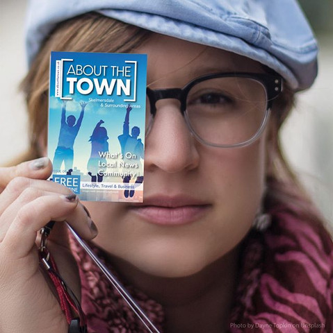 About The Town Business Card Design