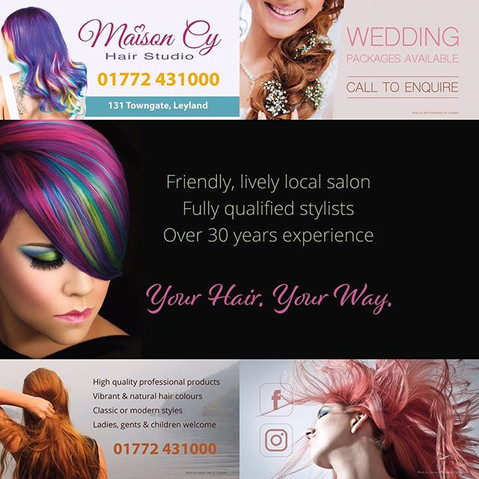 Hairdressers Facebook Cover Photo Design