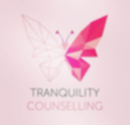 Tranquility Councelling Butterfly logo design