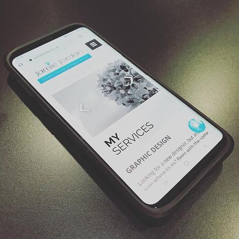 Mobile Friendly WIX Website Design