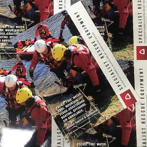 Specialist Rescue Equipment Brochure Design