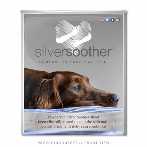 Silver Soother Pet Packaging