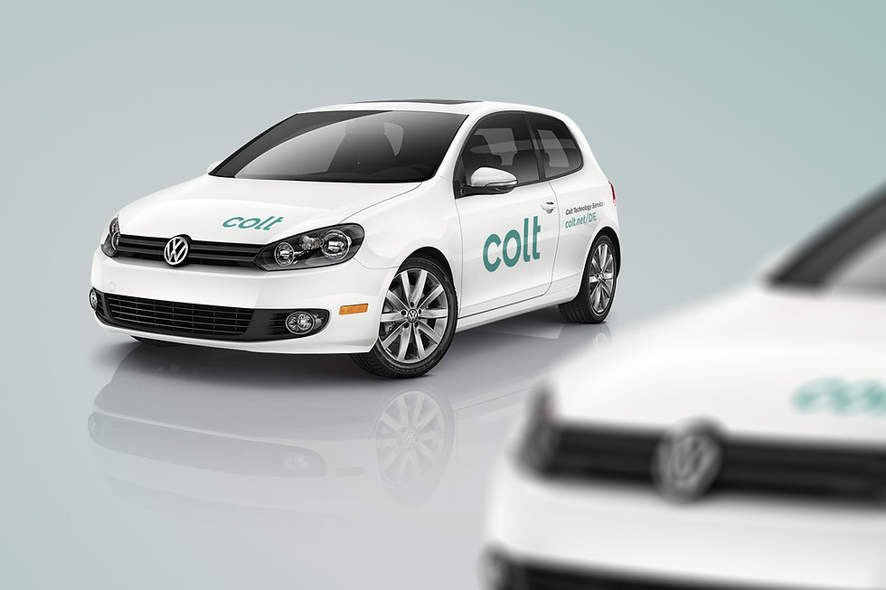 Colt Techology Services Car Fleet Branding