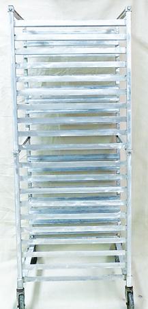 Clean baking racks
