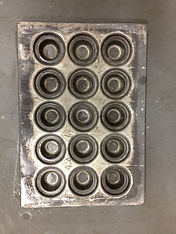 Clean muffin pans
