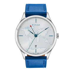 Culem watches the ultimate luxury swiss made travel watches - The Lights Blue Edition