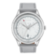 Culem watches luxury dual time travel gmt independent watchmaker kickstarter front view grey frame