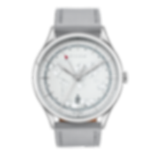 Culem watches luxury dual time travel gmt independent watchmaker kickstarter grey frame front