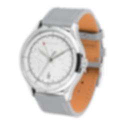 Culem watches luxury dual time travel gmt independent watchmaker kickstarter grey frame side view