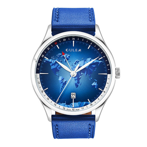 the portal blue front face culem watches