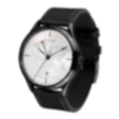 Culem watches luxury dual time travel gmt independent watchmaker kickstarter black side view lights