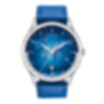 Culem Watches luxury travel wathes GMT, swiss made, the portal blue edition