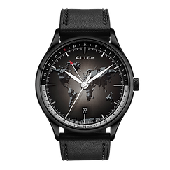 Culem watches the ultimate luxury swiss made travel watches - the portal black