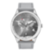 Grey porta front Culem watches luxury dual time travel gmt independent watchmaker kickstarter