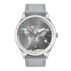 Culem watches the ultimate luxury swiss made travel watches -The Portal Grey Edition