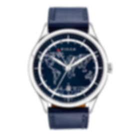 The Frame GMT blue edition culem watches