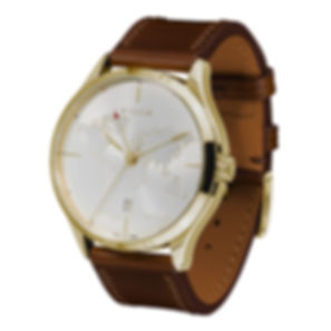 the lights gold side view culem watches.