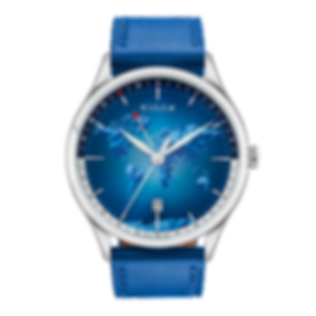Culem watches luxury dual time travel gmt independent watchmaker kickstarter portal blue.png