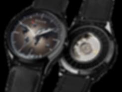Culem watches luxury dual time travel gmt independent watchmaker kickstarter black port mix