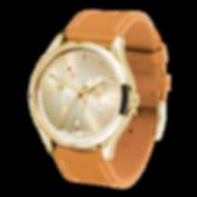 Culem watches luxury dual time travel gmt independent watchmaker kickstartergold portal side view