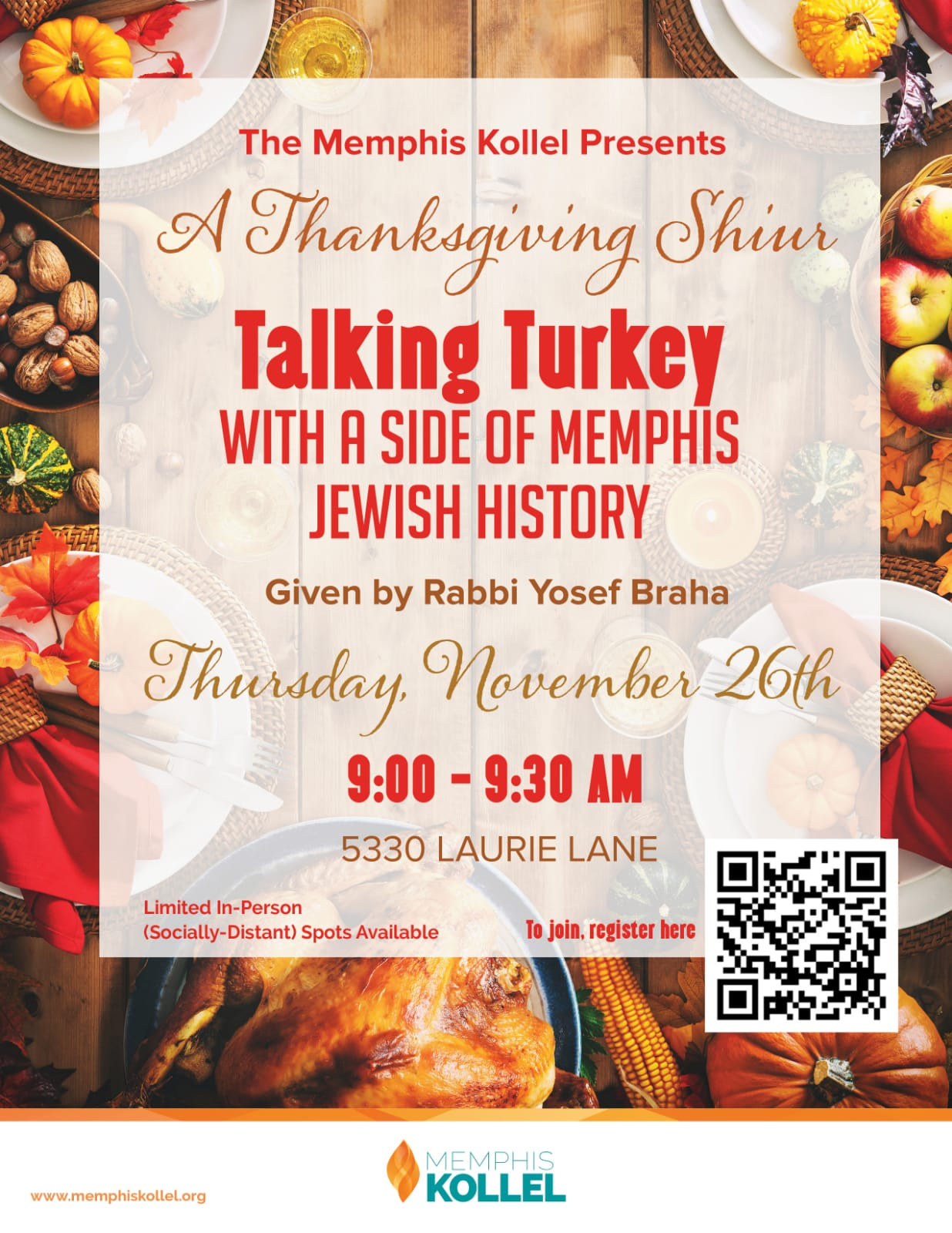 MK Talking Turkey- Thanksgiving Shiur 20