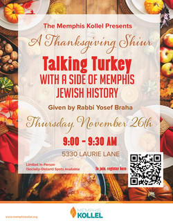 MK Talking Turkey- Thanksgiving Shiur 20