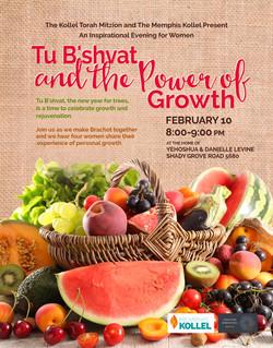 tu bshvat growth